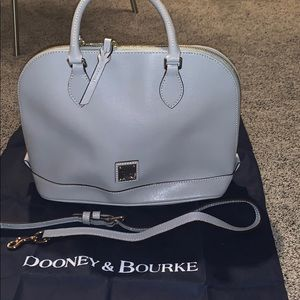 Dooney and Bourke grey handbag